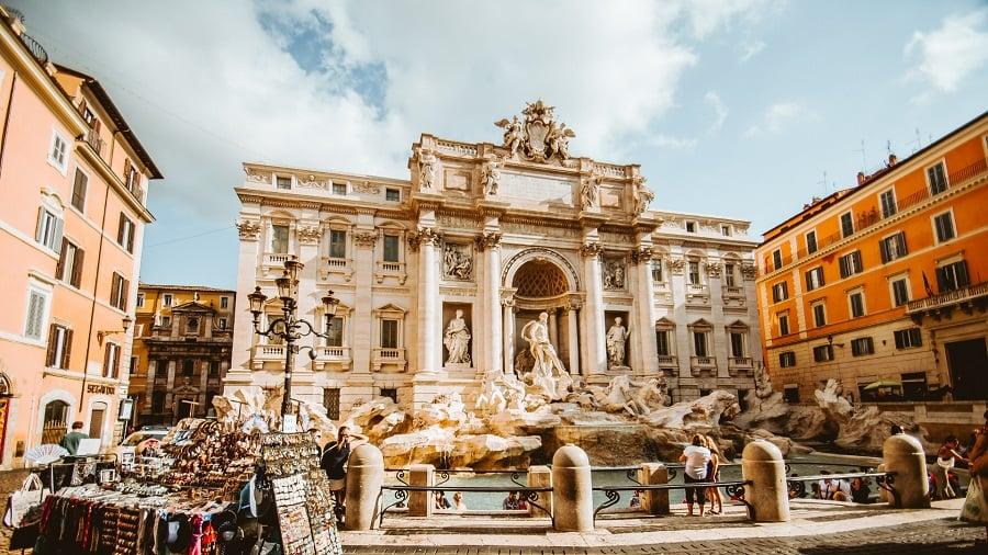14 Trevi Fountain