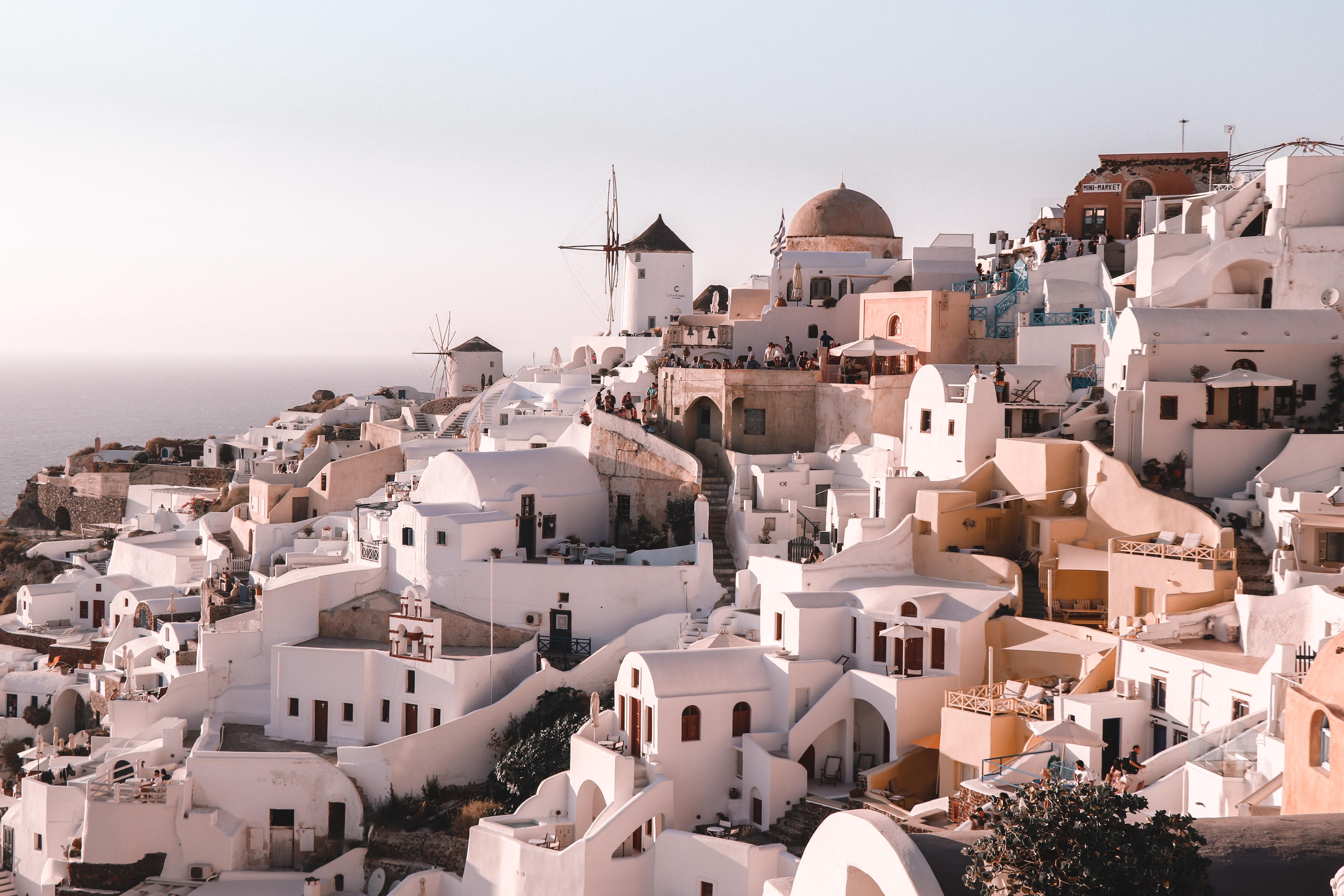 romantic Santorini